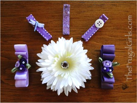 How to Make Oh-So-Cute Spring Hair Clips…
