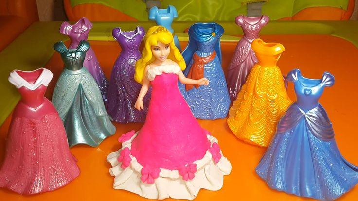 Play Doh Спящая Красавица Принцесса Аврора  Princess Aurora Sleeping Beauty