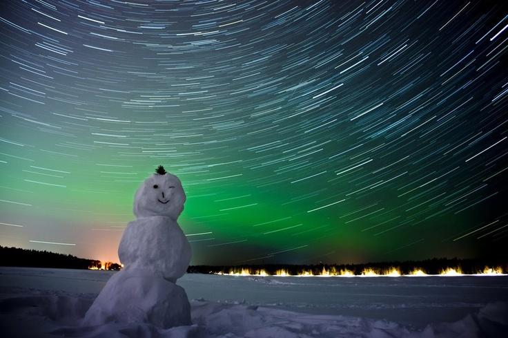 Star Trails Over Norway - Sunghyuk Lim