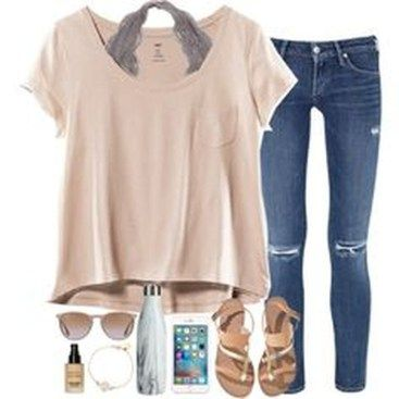 36 Popular Summer Polyvore Outfits Ideas – Cute Outfits