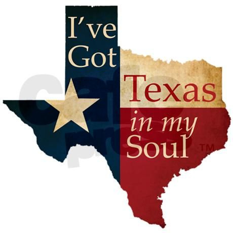 Texas in my Soul Shower Curtain  :)