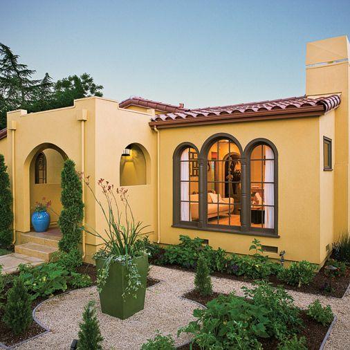 Love The Landscape Of This Spanish Beauty Style HousesSpanish HomesSpanish BungalowModern