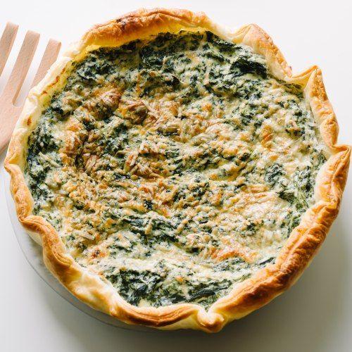 La ricetta di oggi: torta salata (ricotta e spinaci)