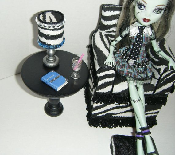 1000 Images About Barbie And Monster High Furniture On Pinterest Bed Storage Living Room