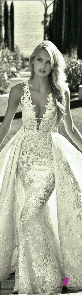 Brautkleid Meerjungfrau und Prinzessin 2in1