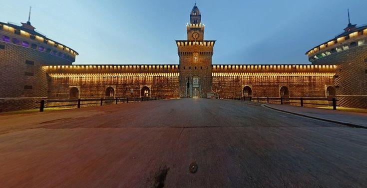 La #storia del #Castello #Sforzesco di #Milano - #cosavedereamilano #CastelloSforzesco
