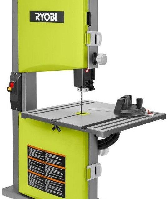 61 best ryobi images on pinterest ryobi tools electric power ryobi amp 9 in band saw in green rapid set blade tensioning system sight greentooth Image collections