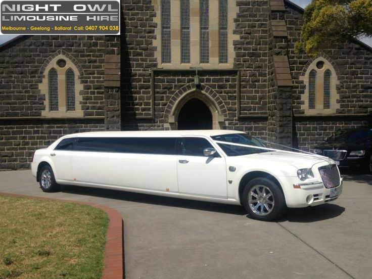 Night Owl Limousine Hire offers the very best limo hire in Melbourne. We have a great range of 2013 Chrysler 300C Limousine, Black & White Stretch Chrysler 300C Limousine, chrysler limo hire to suit any occasion. We endeavor to make our clients experience nothing short of the very best the limousine hire Melbourne industry has to offer.