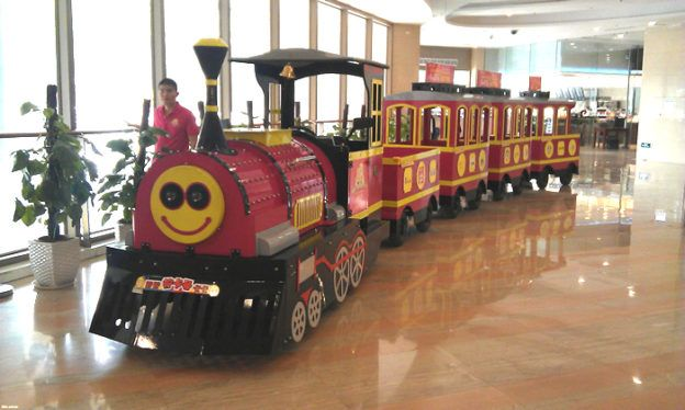 electrci mini express train for mall | Trackless and Track