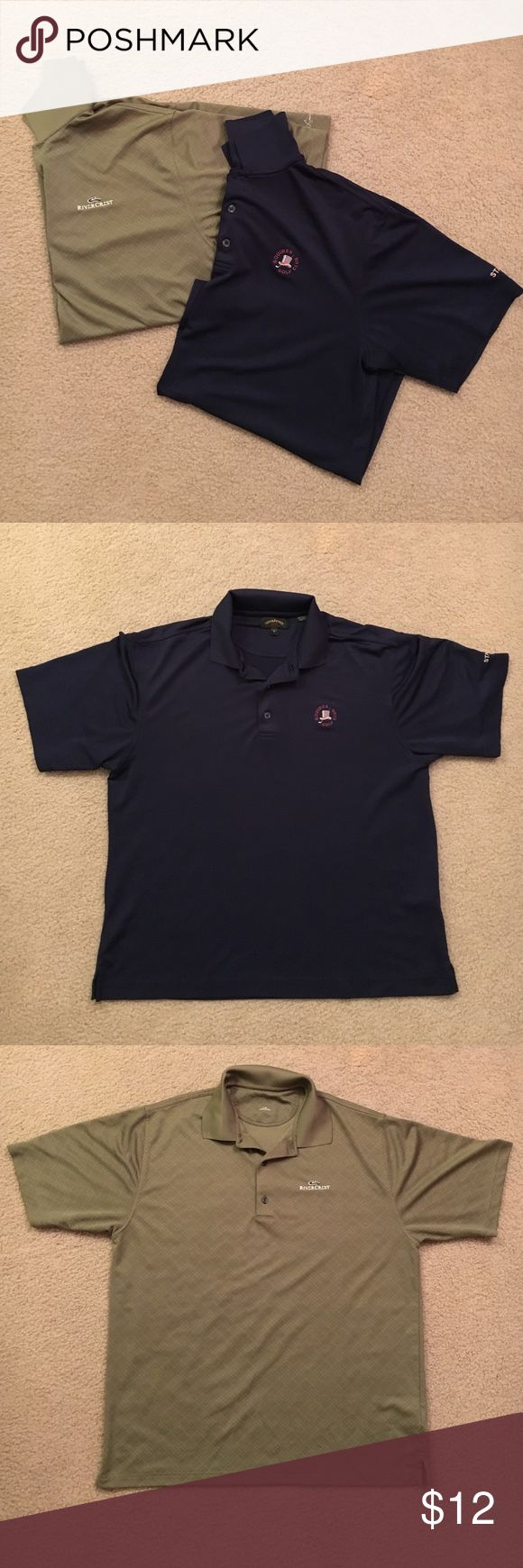 Bundle Men's Golf Polos 2 golf shirts in good condition. Shirts Polos
