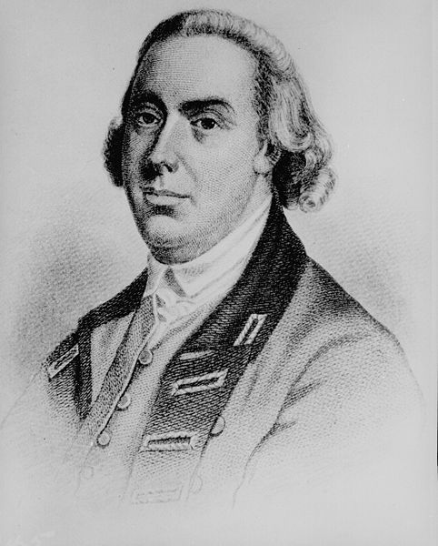 Engraving of British General Thomas Gage. #americanrevolution