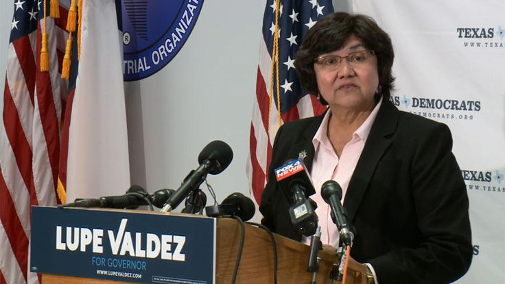 Dallas County Sheriff Lupe Valdez announced Wednesday morning she will run for Texas governor.