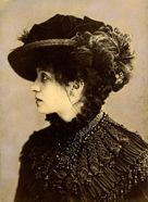 Eleonora Duse in Odette,  1885 circa (Foto Bettini)  Roma, Bilbioteca e Museo   Teatrale del Burcardo