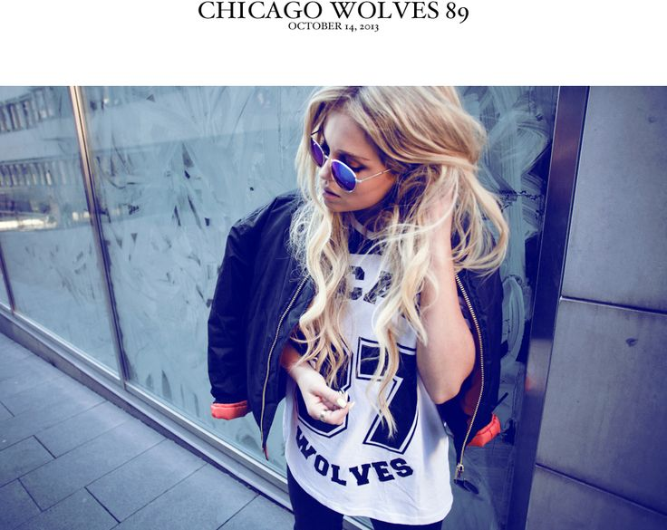 Chicago wolves | Fanny Lyckman