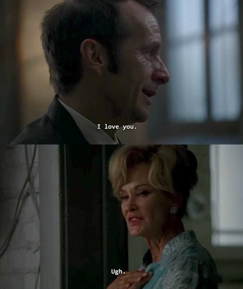 Denis O'Hare as Larry and Jessica Lange as Constance, Murder House