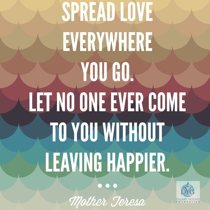 Spread Love Quotes: 17 Best DGYFoundation Projects Images On Pinterest
