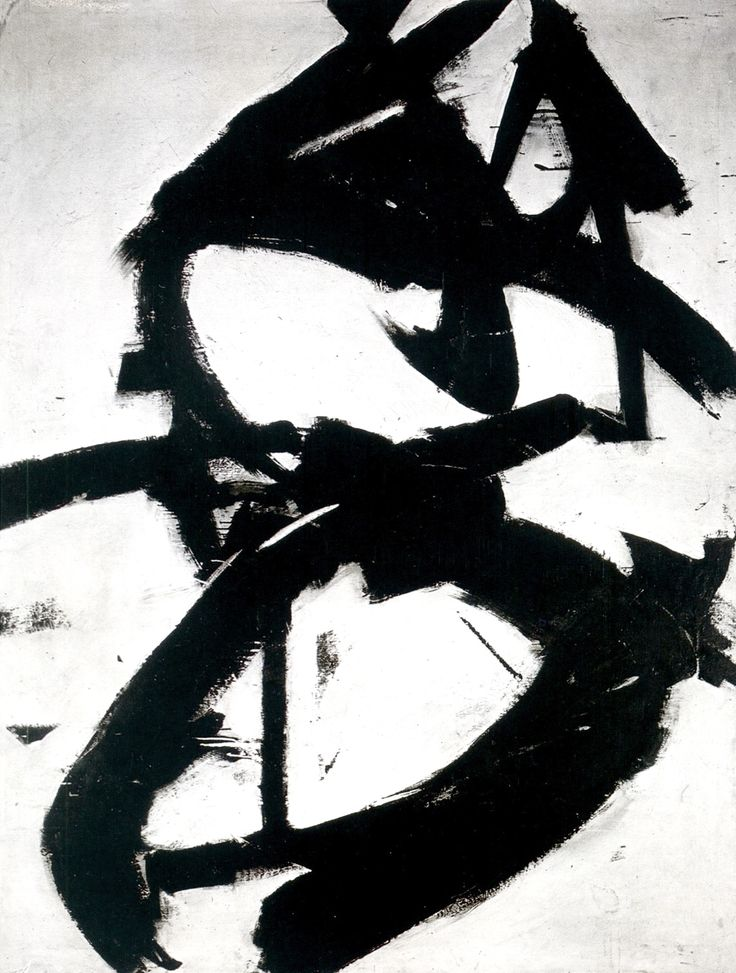 solaire10: Franz Kline: Figure Eight (1952)