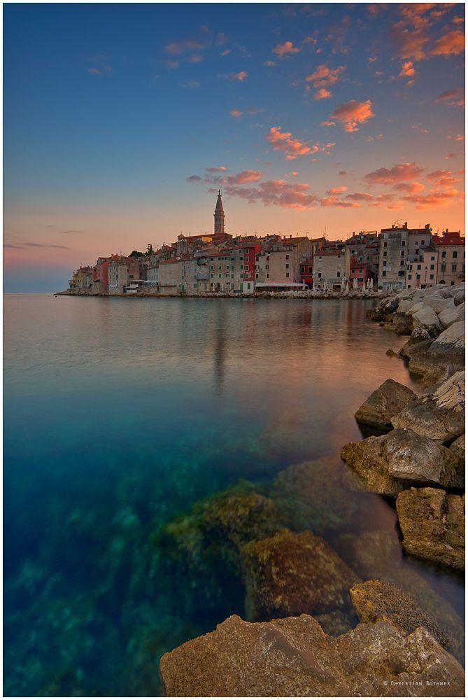 Rovinj in Kroatien Eine wunderschöne Stadt!