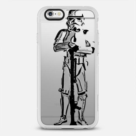Space Trooper Semi-Transparent - Snap Case