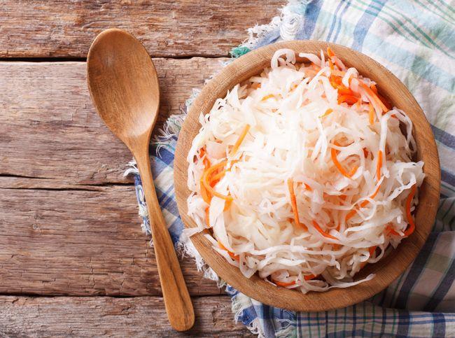 Квашеная капуста - один из лучших диетических продуктов, доступных даже зимой. #healthydiet #krasotkapro #красоткапро