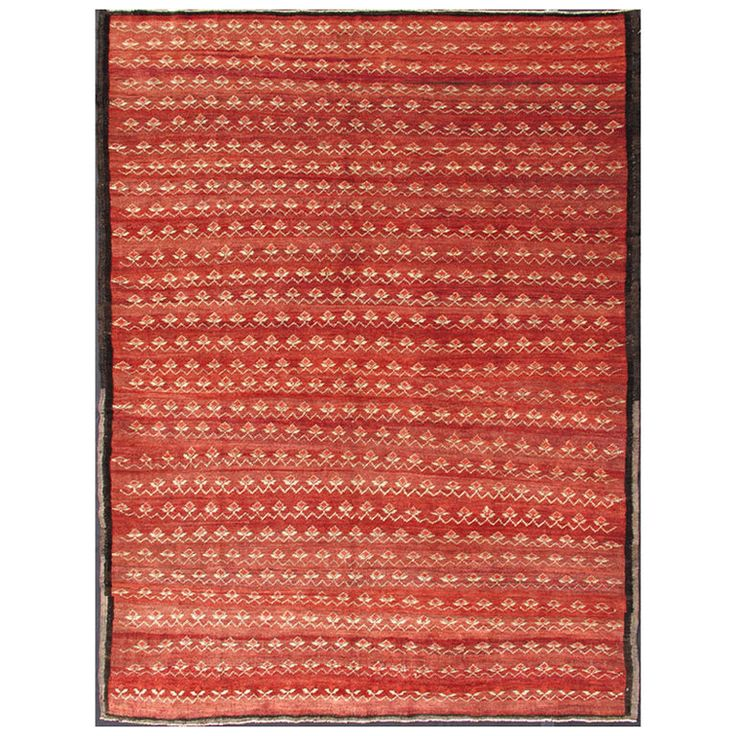 Chic Midcentury Rug | From a unique collection of antique and modern turkish rugs at https://www.1stdibs.com/furniture/rugs-carpets/turkish-rugs/