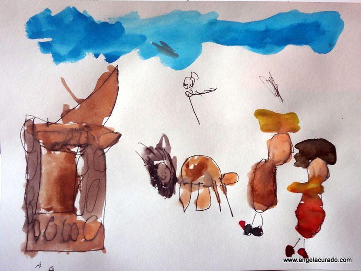 https://flic.kr/p/FziZde | Heidi, Fog, grandfather and his cabin.