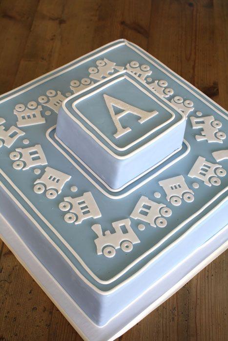 Gorgeous Baby/Christening Cake