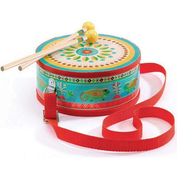 Start a music group. Fun and affordable music toys DJECO Animambo Music Drum #toys2learn #music #earlylearning #playgroup