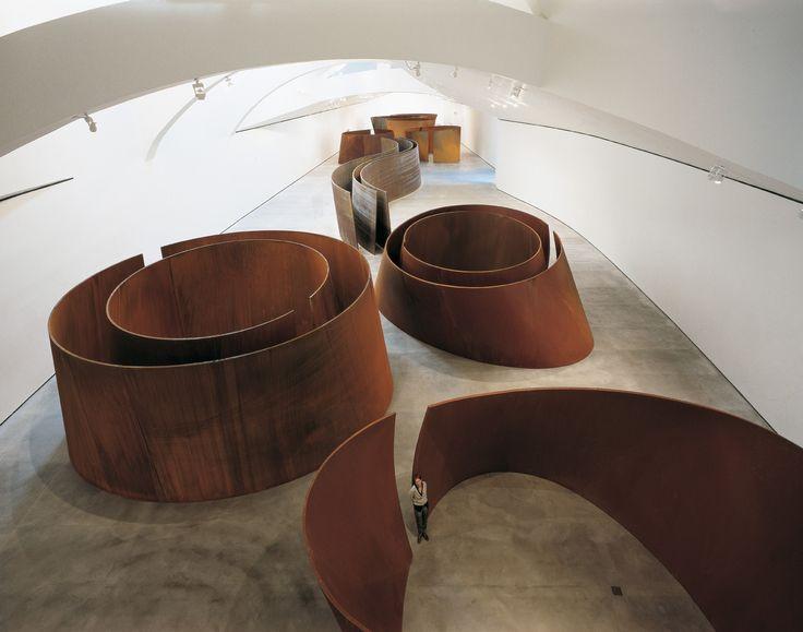 Richard Serra. The matter of time. Richard Serra. The matter of time January 1, 2015 – December 31, 2015.  - Guggenheim Museum Bilbao