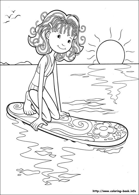 Groovy Girls Coloring Pages For Kids 45
