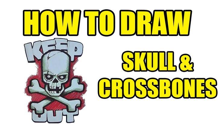 How To Draw Skull & Crossbones
