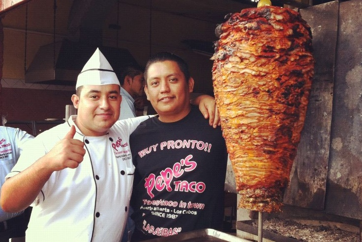 Best tacos al pastor in Puerto Vallarta, Pepe's Taco downtown, near to the gas station.