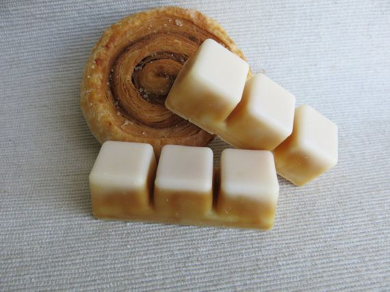 Cinnamon Scroll Fragrance Wax Melts Soy Wax Melts by SoyEnchanted