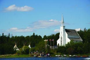 Holy Trinity Anglican Church - Lac La Ronge Provincial Park, Saskatchewan