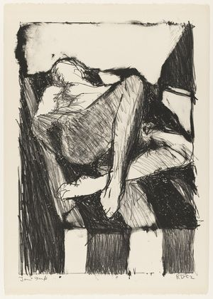 MoMA | The Collection | Richard Diebenkorn. Reclining Figure I. 1962