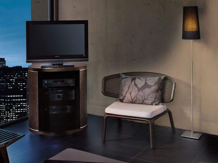 revo swiveling tv cabinet corner tv stands bdi furniture