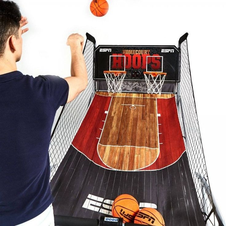2 Player Basketball Game with 8 Different Games Game Clock and Arcade Sounds #ESPN