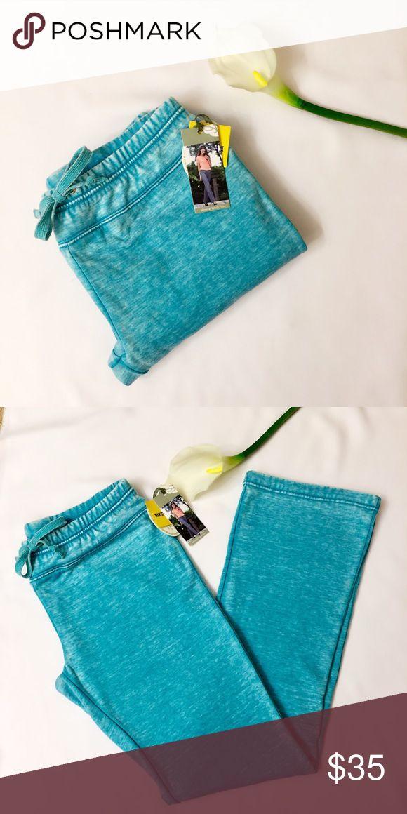 •Green Tea• Aqua Mineral Washed Sweatpants •Green Tea• Aqua Mineral Washed Sweatpants. Brand new with tags! Super soft & cozy! Stunning aqua color blue✨.                 Retail Price: $60 open to reasonable offers! Green Tea Pants Track Pants & Joggers