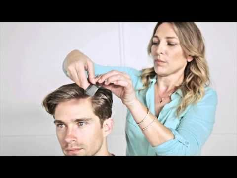 Celebrity hairstylist Diana Schmidtke shows how to get the classically elegant side part.
