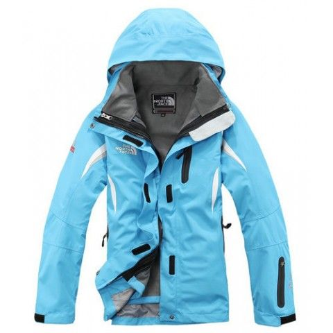 Womens The North Face Jacket Blue