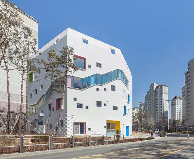Экологичный детский сад в Южной Корее