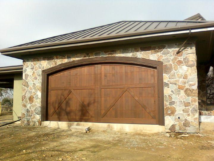 17 best ideas about double garage door on pinterest garage doors carriage style garage doors - Double wooden garage doors ...