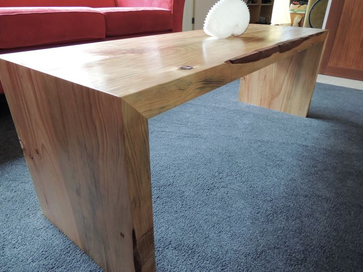 Pine coffee table perfect mitre joinery