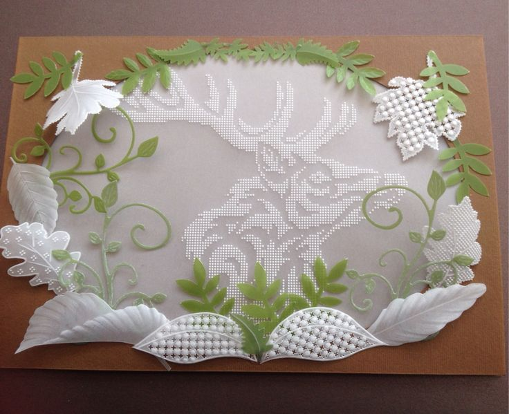 For a friends Birthday Stag designed by Sue Hastwell
