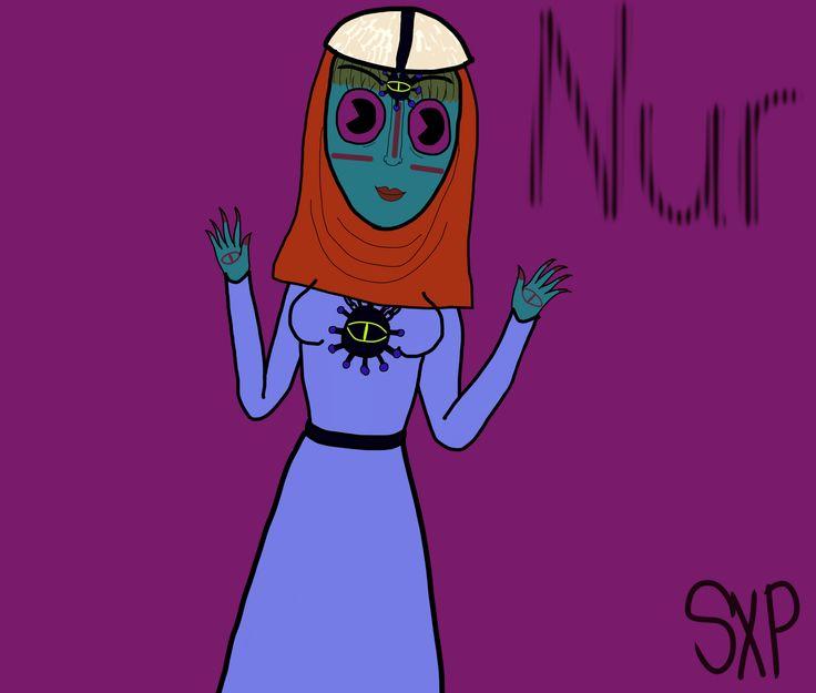 Nur the Fairy of the Mind #myoc #myart #digitalart #anime #cartoon #cartoons #comic #comics #manga #fairy #fairies #oman #jabrin #omani #arab #sunni #alamira #hijab #polysexual #virgo #light #wildduckcluster #darkpinklipsense #mendelevium #eye #bindi #henna #facepaint