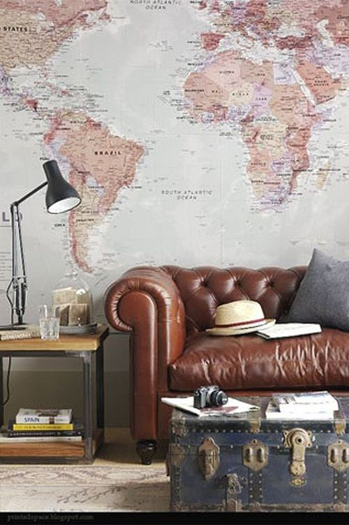 Discover our 17 Wonder Walls Art ideas - World map