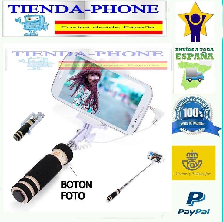MONOPOD SELFIE BRAZO EXTENSIBLE IPHONE 3GS 4 4S 5 5C 5S 6 APPLE GALAXY S4 S5 S6