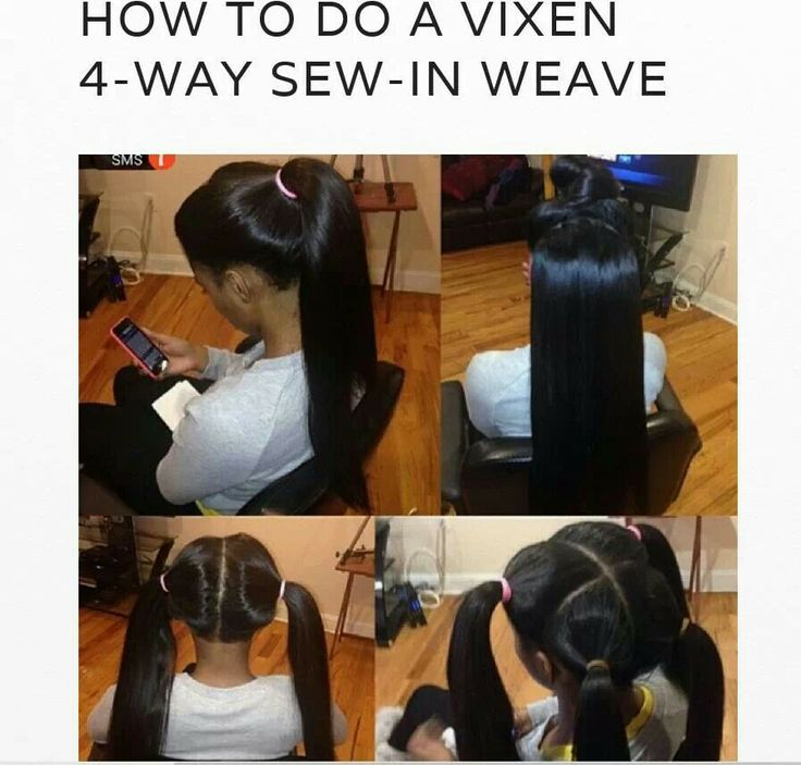 how to hair make it different : How To Do A Vixen 4 Way Sew In Weave Hair Styles Pinterest Sew ...