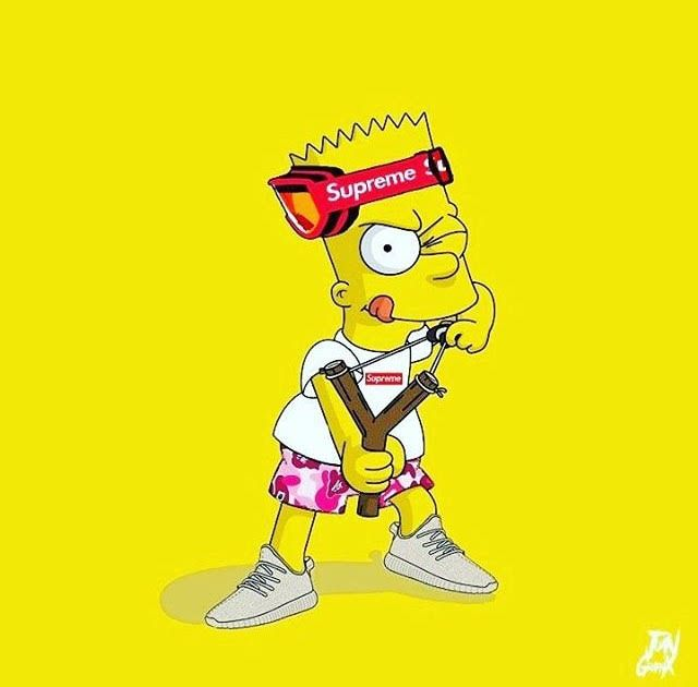 Pin by Cece Rogers on Phone | Supreme wallpaper, Simpson ...
