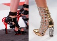schoenen Parijs Fashion Week zomer 2014